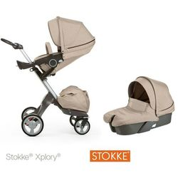 Stokke ® Xplory Głęboko-Spacerowy Beige Me