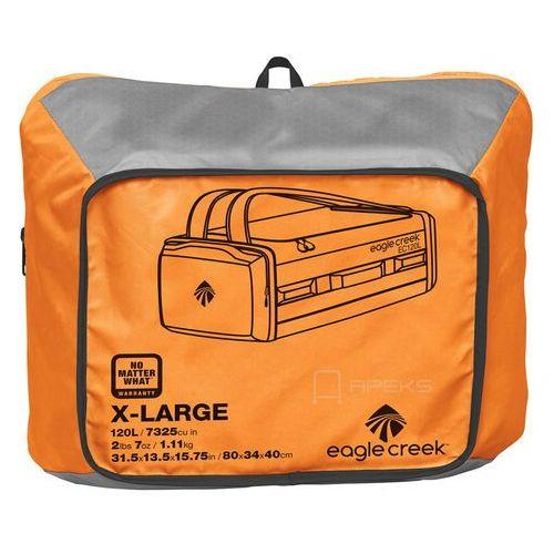 6098f139a8ecf Eagle Creek Cargo Hauler Duffel 120L torba podróżna składana 80 cm   plecak    pomarańczowo -
