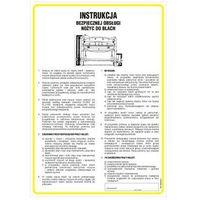 Instrukcja bezpiecznej obsługi nożyc mechanicznych do blach