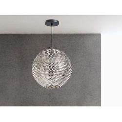 Lampa sufitowa wiszaca nikiel - zyrandol - oswietlenie - SEINE