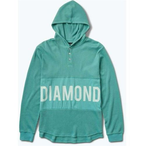 bluza DIAMOND - Winston Hooded Thermal Teal (TEAL)