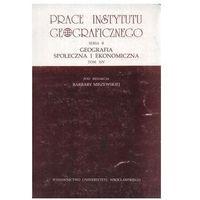Geografia społeczna i ekonomiczna tom 14 (opr. miękka)