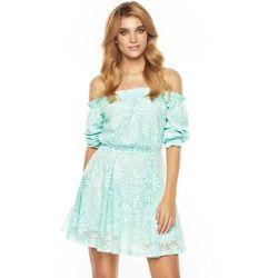 Sukienka Summer w kolorze miętowym