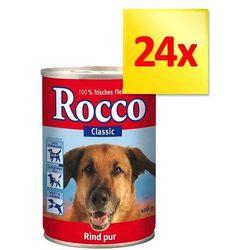 Zestaw Rocco Classic, 24 x 400 g - Wołowina z reniferem