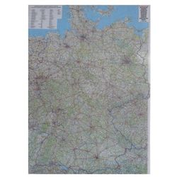 Niemcy mapa ścienna samochodowa ARKUSZ 1:700 000 Freytag & Berndt