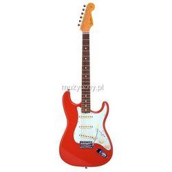 Fender 60s Stratocaster Fiesta Red Japan gitara elektryczna Płacąc przelewem przesyłka gratis!