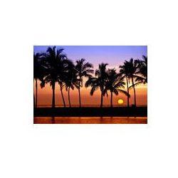 Foto naklejka samoprzylepna 100 x 100 cm - Hawajski słońca na wielkiej wyspie, Anaehoomalu zatoki