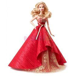 Świąteczna Barbie Mattel