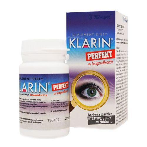 Klarin Perfekt kaps.elast.(żelatynowe) - 30 kaps.