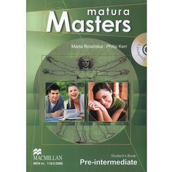 Matura Masters Pre-Intermediate. Podrecznik (+CD) (opr. miękka)