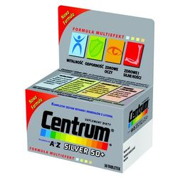 Centrum kompletne od A do Z Silver 50+ Multiwitamina 30 tabletek