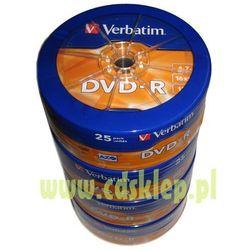 DVD-R Verbatim 4.7GB x16 softpack 100szt.