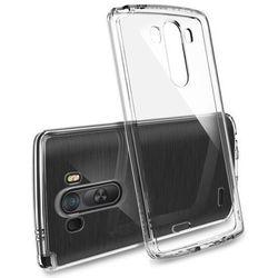 Etui obudowa Rearth Ringke Fusion Crystal Clear + folia ochronna dla LG G3