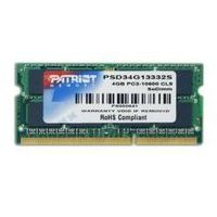 Patriot PSD34G13332S DDR3 4GB 1333 CL9