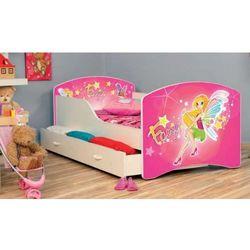 Łóżko parterowe Iga 180x80 + szuflada