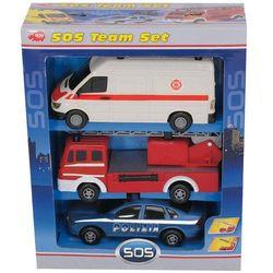 DICKIE Zestaw Pojazdów Ratunkowych SOS - DICKIE