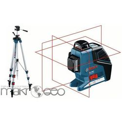 GLL 3-80 Professional + statyw BT250 laser krzyżowy Bosch
