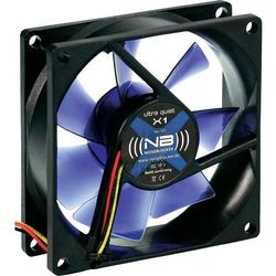 Wentylator do komputerów PC, NoiseBlocker BlackSilentFan X1, 8 cm x 8 cm x 2,5 cm