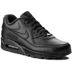 Buty NIKE Air Max 90 Leather 302519 001 BlackBlack