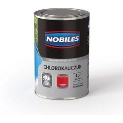 Emalia Chlorokauczuk Błękitny połysk 1L Nobiles