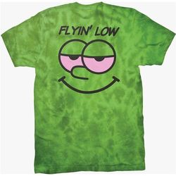 koszulka DGK - Flyin Low Tee Lime Crystal Wash (LIME CRYSTAL WASH)