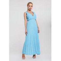 23e25360 Niebieska Sukienka Perceptivity