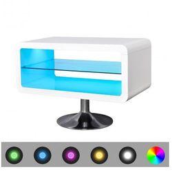 Stojak na telewizor, biały, LED, 80 cm Zapisz się do naszego Newslettera i odbierz voucher 20 PLN na zakupy w VidaXL!