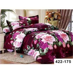200x220 4cz Komplet Pościeli Kolorowe Kwiaty 175