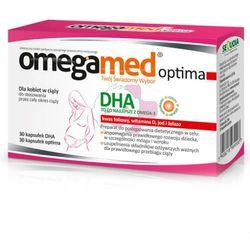 Omegamed Optima, kaps.,dla kobiet w ciazy,30 szt+30 szt