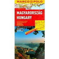 Węgry mapa sam.1:300 000/Marco Polo/ (opr. twarda)