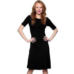 Sukienka z rękawkami czarna