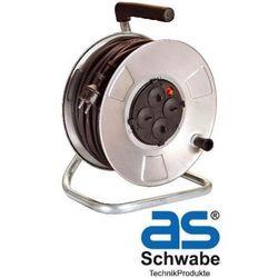 AS-Schwabe Przedłużacz bębnowy metalowy 50 m (AS810412)