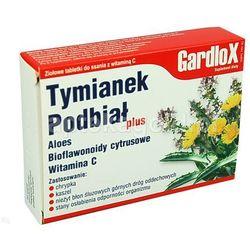 Gardlox Tymianek Podbial pastylki x 16