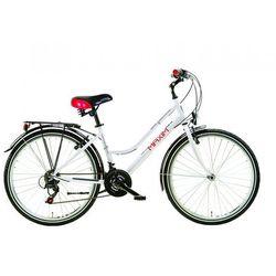 Maxim rower miejski MC 1.1 lady biały 18