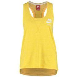 Nike Sportswear GYM VINTAGE Top varsity maize/sail