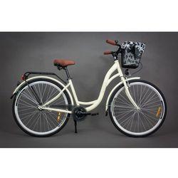 Goetze Rower miejski Pure kremowy 18