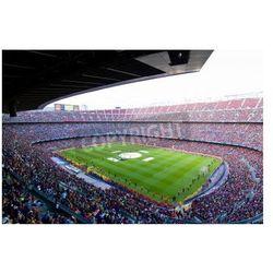 Fototapeta BARCELONA, Hiszpania - 13 maja 2011: Niezidentyfikowane FC Barcelona kibice świętują zwycięstwo hiszpańskiego