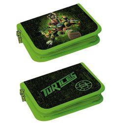 Piórnik STARPAK 329056 Ninja Turtles 2 klapki z wyposażeniem