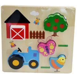 Układanka drewniana Farma 5