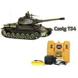 Duży Zdalnie Sterowany Czołg T-34 + Pilot.