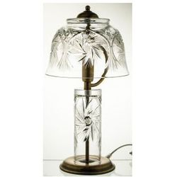 Lampa kryształowa stojąca okazała stołowa -2472
