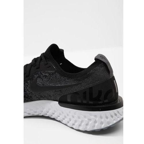 the best attitude 6c46b f454f Nike Performance EPIC REACT FLYKNIT Obuwie do biegania treningowe  blackdark greypure platinum