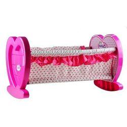 Piękna duża bajkowa kołyska łóżeczka dla lalek