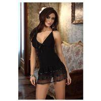 Silvia black sukienka i stringi