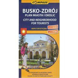 Busko Zdrój plan miasta i okolic 1:10 000 (opr. miękka)