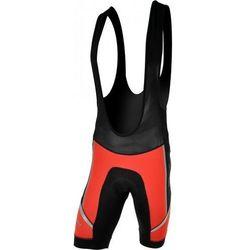 Męskie spodnie rowerowe lacl Silvini Salia MP458 red