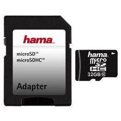 Karta HAMA microSDHC/32GB Class 10 22MB/s + Adapter SD