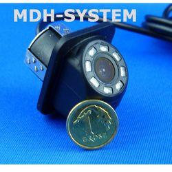 Kamera samochodowa, kamera cofania, MINIATUROWA, DZIEŃ/NOC, uniwersalna, 8 diod IR, 8IR-81603002