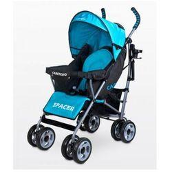 Caretero SPACER CLASSIC wózek dziecięcy spacerówka niebieska blue