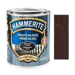 Farba Prosto Na Rdzę - Efekt Młotkowy Brązowy 2,5L Hammerite